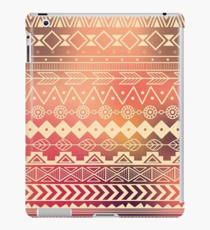 Aztec pattern 01 iPad Case/Skin
