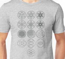 13 Circles of Sacred Geometry   FRESH Unisex T-Shirt
