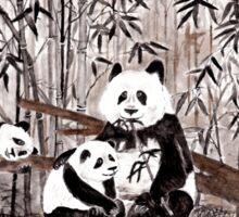 Bamboo  picnic Sticker