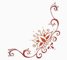 Climbing Lotus Henna Kids Tee