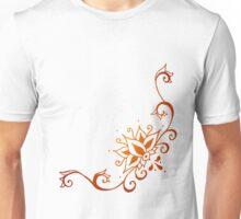 Climbing Lotus Henna Unisex T-Shirt