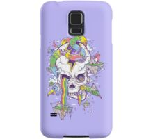 Flying Rainbow skull Island Samsung Galaxy Case/Skin
