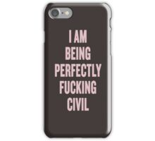 The Raven Boys Ronan quote iPhone Case/Skin