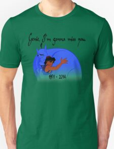 RIP Robin Williams - Genie, we're gonna miss you Unisex T-Shirt