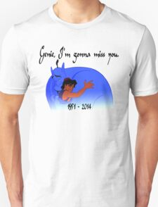 RIP Robin Williams - Genie, we're gonna miss you T-Shirt