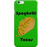 Spaghetti Tacos 2 iPhone Case/Skin