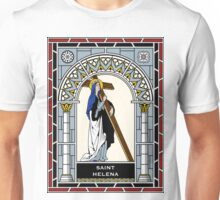 ST HELENA under STAINED GLASS Unisex T-Shirt