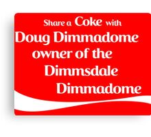 Share a Coke Canvas Print