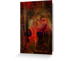voidwork reflection Greeting Card