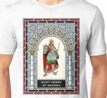 ST HENRY OF BAVARIA under STAINED GLASS Unisex T-Shirt