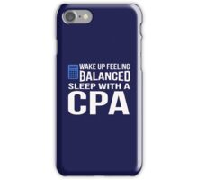 CPAs know how to Approach to women iPhone Case/Skin
