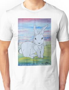 Rabbit in coutryside Unisex T-Shirt