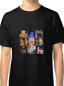 Robin Williams Collage Classic T-Shirt