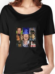 Robin Williams Collage Women's Relaxed Fit T-Shirt