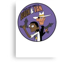 Troy and Abed in Black and Tan Canvas Print
