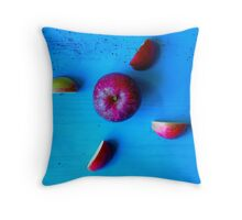 Red Apple . Throw Pillow