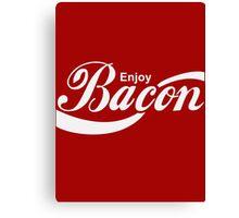 Enjoy Bacon Canvas Print
