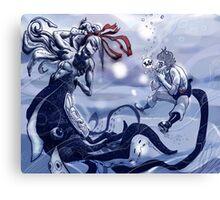 The Lil Mermaid Canvas Print