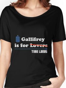 Gallifrey is for Lovers Women's Relaxed Fit T-Shirt