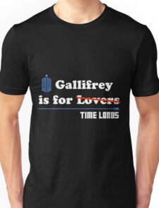 Gallifrey is for Lovers Unisex T-Shirt