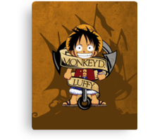 Chibi Luffy Canvas Print