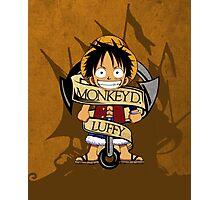 Chibi Luffy Photographic Print