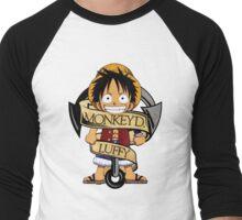 Chibi Luffy Men's Baseball ¾ T-Shirt