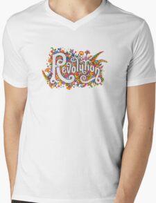 Revolution Mens V-Neck T-Shirt