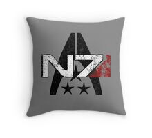 N7 Systems Alliance Throw Pillow