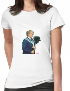 Mrs. Doubtfire Womens Fitted T-Shirt