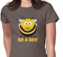 Be A Bee Cool Cute Funny Cartoon T-Shirts and Gifts Womens Fitted T-Shirt