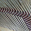 Stacked Chair Abstract  by clizzio