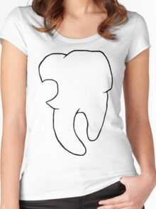 Tooth be told! Women's Fitted Scoop T-Shirt