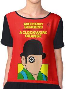A Clockwork Orange Book Cover Chiffon Top