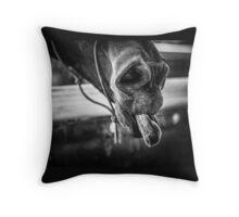 Cheeky Horse Throw Pillow