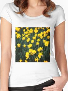 Daffodils One Women's Fitted Scoop T-Shirt