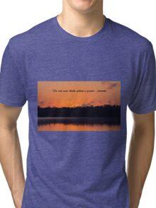 Contermplation Tri-blend T-Shirt