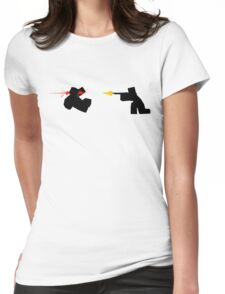 Unturned Zombie Kill Womens Fitted T-Shirt