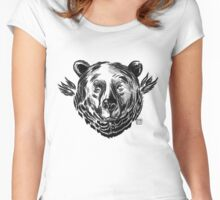 Angel Bear Women's Fitted Scoop T-Shirt
