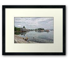 Bass Harbor Framed Print