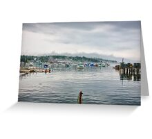 Clearing Harbor Greeting Card
