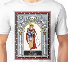 ST HYACINTH under STAINED GLASS Unisex T-Shirt