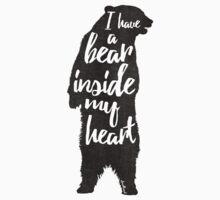 Bear Heart Kids Tee