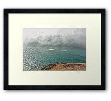 Afternoon Fog Framed Print
