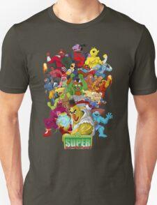 Super Sesame Street Fighter Unisex T-Shirt