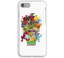 Super Sesame Street Fighter iPhone Case/Skin