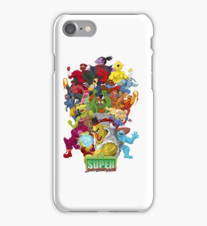 Super Sesame Street Fighter iPhone Case/Skin