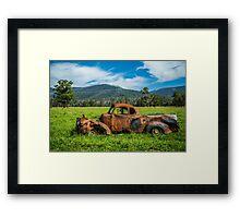 Marysville Chev Framed Print