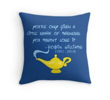 R I P Robin Williams Throw Pillow