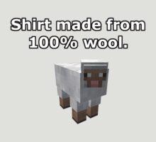 Minecraft Sheep by GoldenWrapper